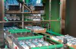 """CONVEYOR FOR SMALL BOTTLES IN  """"PICK & PLACE """" PACKAGING LINE"""